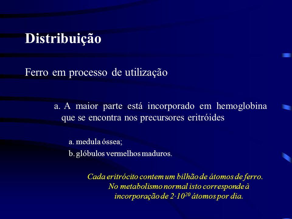 Distribuição Ferro em processo de utilização 2.