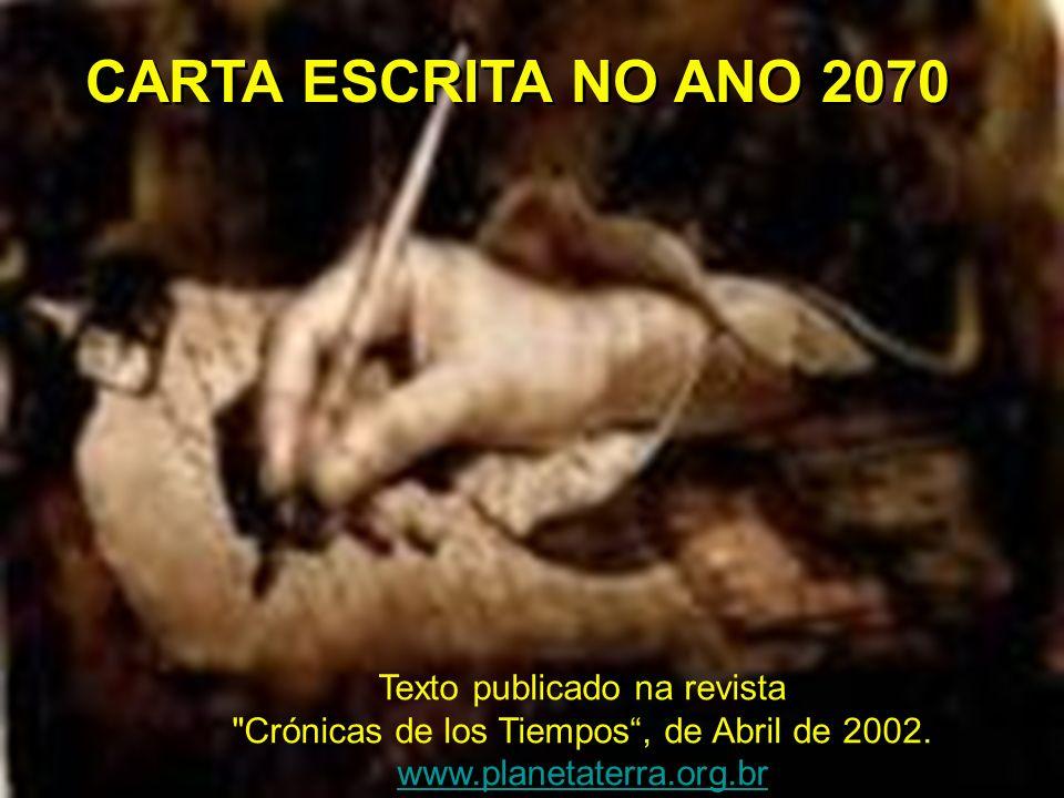 Texto publicado na revista Crónicas de los Tiempos, de Abril de 2002.