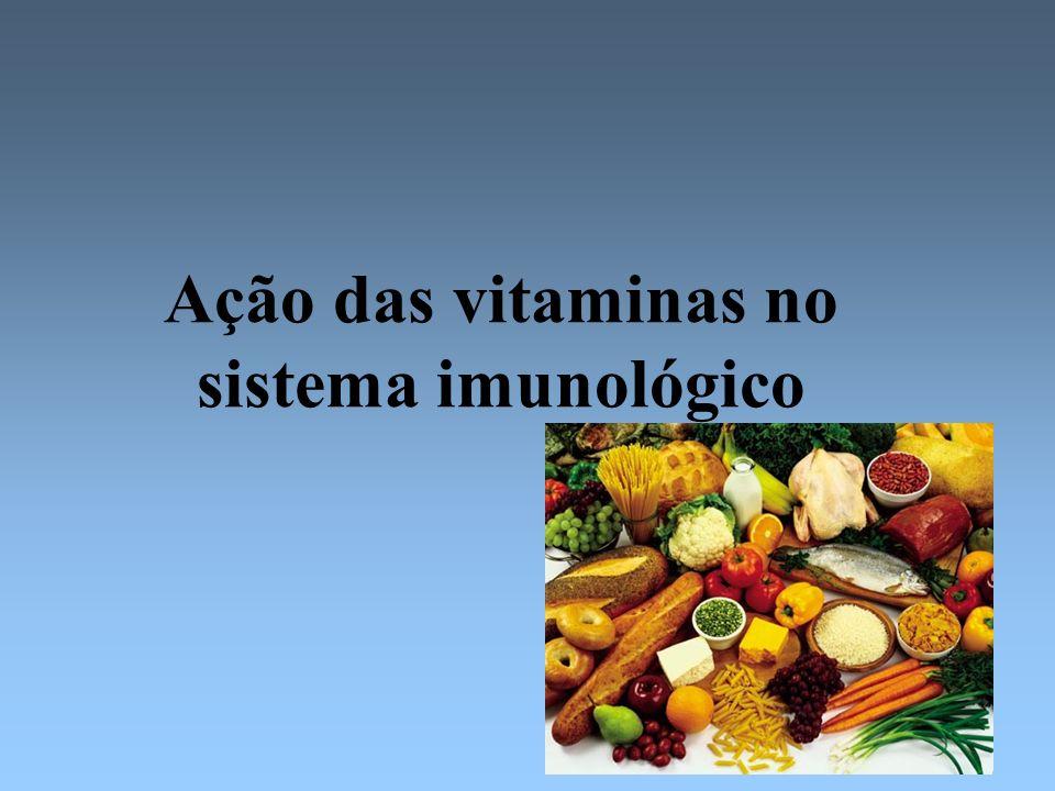 Ação das vitaminas no sistema imunológico
