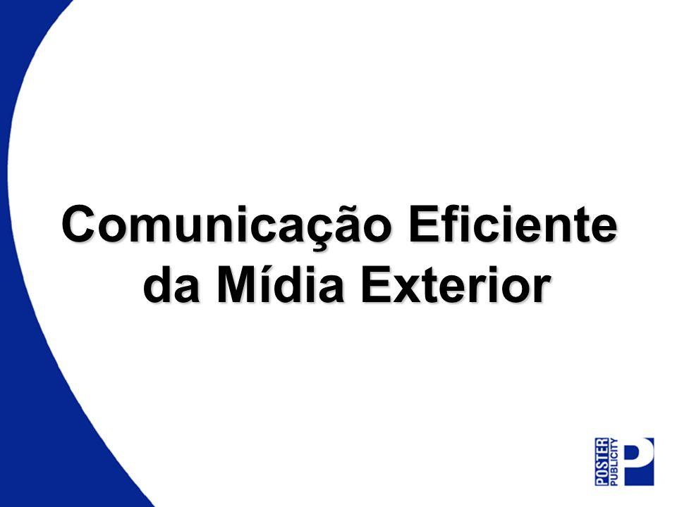 Comunicação Eficiente da Mídia Exterior da Mídia Exterior