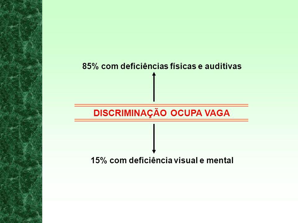 EMPREGABILIDADE NO ESTADO DE SÃO PAULO 645 municípios 37.035.42 pessoas 4.203.632 com alguma deficiência 33.000 empregadas 7.453 empresas com mais de