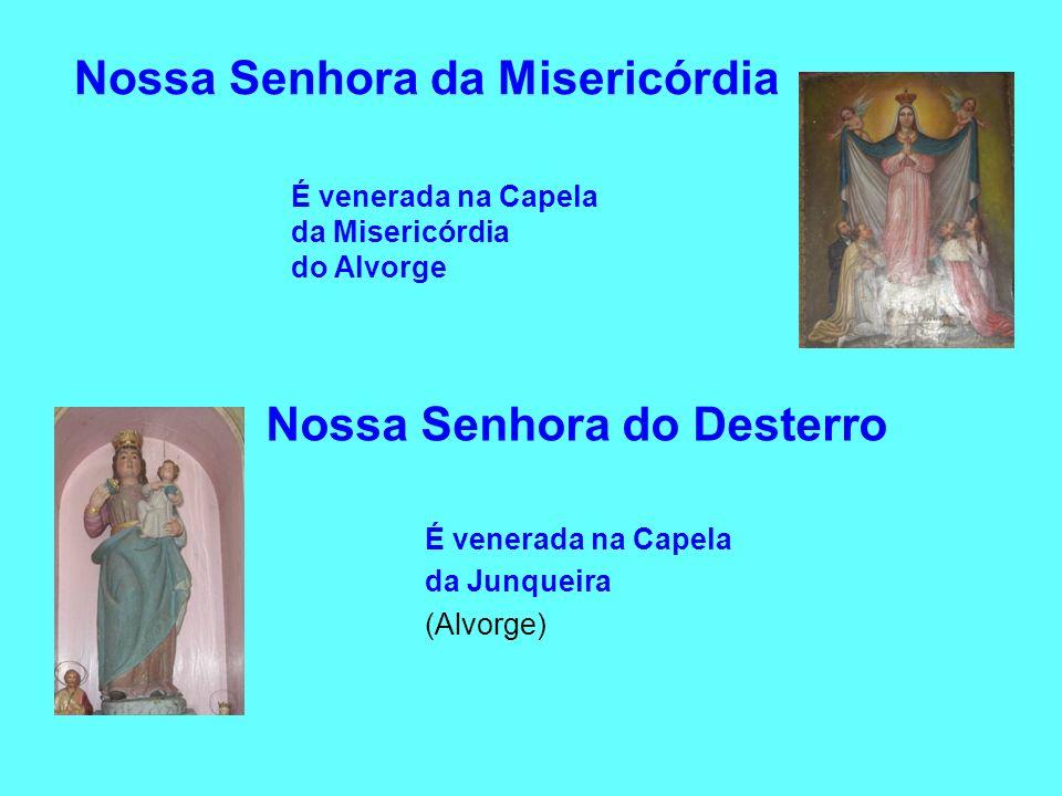 Nossa Senhora da Misericórdia Nossa Senhora do Desterro É venerada na Capela da Junqueira (Alvorge) É venerada na Capela da Misericórdia do Alvorge