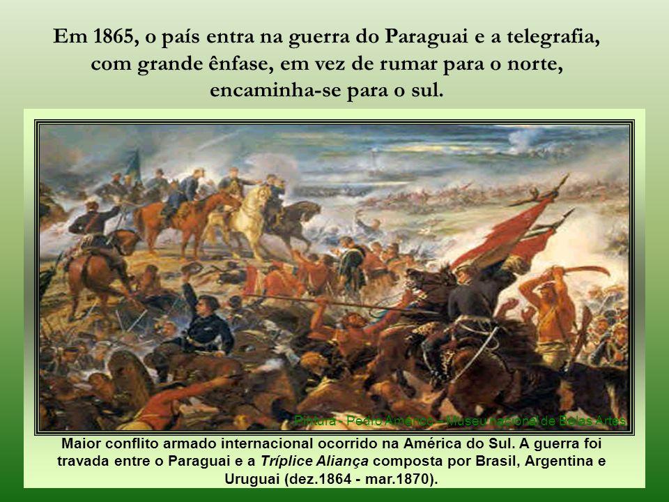 Maior conflito armado internacional ocorrido na América do Sul.