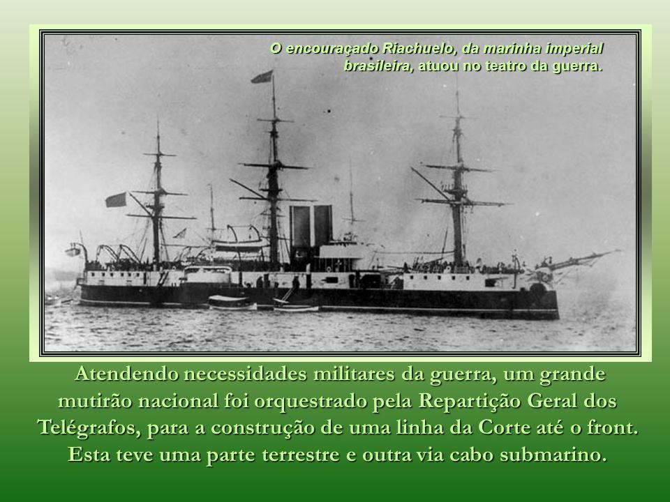 Em 23 de dezembro de 1873, concluía-se a ligação entre Belém, Recife e Salvador ao Rio de Janeiro.