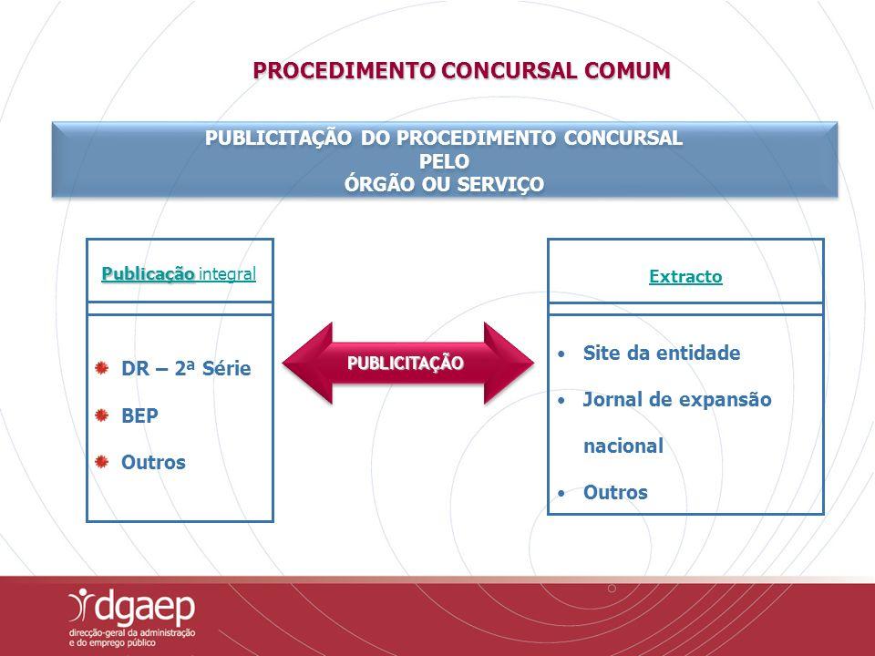 A ECCRC pode ainda aplicar métodos de selecção de outros procedimentos concursais quando solicitado pelos órgãos ou serviços; Pagamento de acordo com tabela (a aprovar por membro do Governo) - Modalidades de Constituição- - Modalidades de Constituição - RESERVAS DE RECRUTAMENTO POR ENTIDADE CENTRALIZADA – ECCRC PARA PREENCHIMENTO DE POSTOS DE TRABALHO PREVISTOS NOS MAPAS DE PESSOAL DE MAIS QUE UM ÓRGÃO OU SERVIÇO, PARA CARREIRA GERAL OU ESPECIAL CONSTITUIÇÃO DE RESERVA DE RECRUTAMENTO