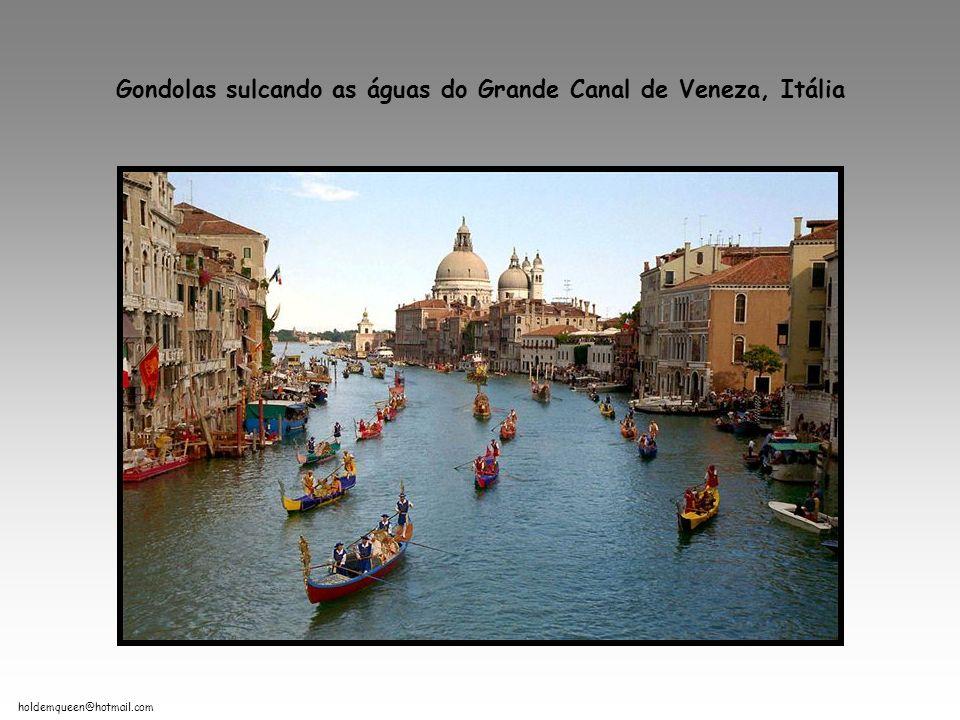 holdemqueen@hotmail.com Gondolas sulcando as águas do Grande Canal de Veneza, Itália