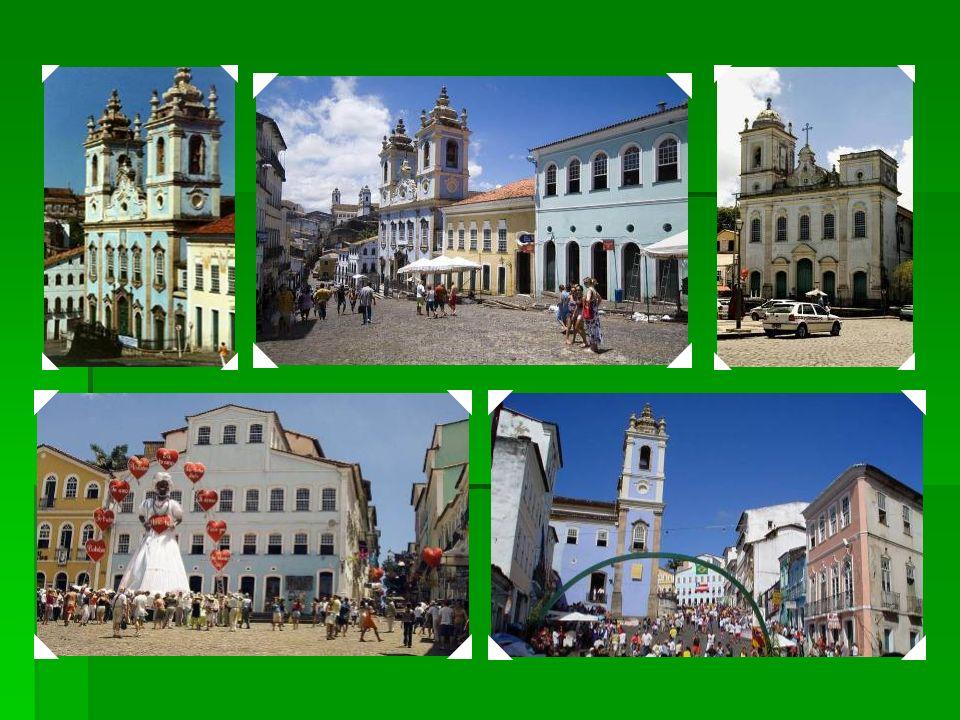 1985 Centro Histórico de Salvador - Bahia – Como a primeira capital do país, de 1549 a 1763, a cidade de Salvador na Bahia testemunhou a mistura da cu