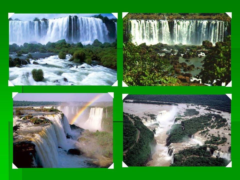 1986 Parque Nacional do Iguaçu – O Parque divide com o Parque Nacional do Iguaçu da Argentina uma das maiores e mais impresionantes quedas dágua do mu