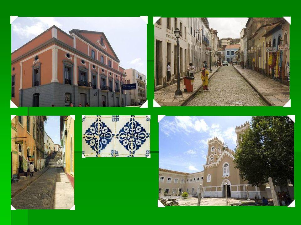 1997 Centro Histórico de São Luis - O louvado século XVII, o principal dessa cidade histórica, fundada pelos franceses e ocupada pelos holandeses ante