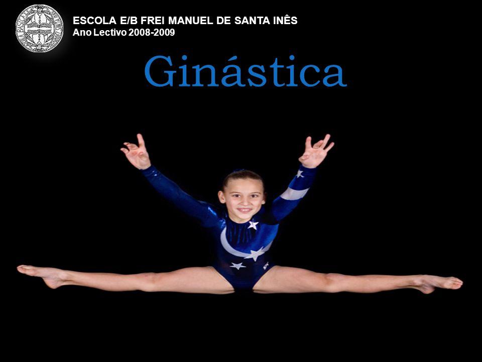 Ginástica ESCOLA E/B FREI MANUEL DE SANTA INÊS Ano Lectivo 2008-2009