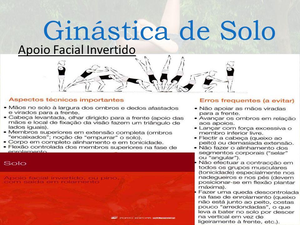 Ginástica de Solo Apoio Facial Invertido