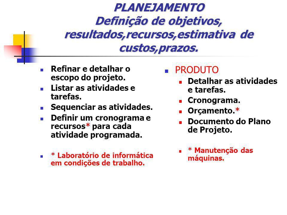 EXECUÇÃO Organização, coordenação e direção de equipes.