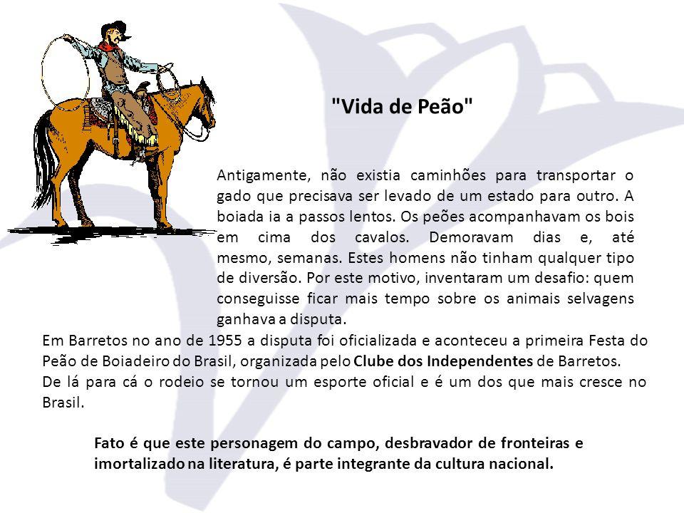 À época, a cidade de Barretos era conhecida como a capital da pecuária brasileira, por motivos econômicos e históricos.