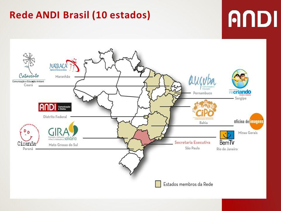 Rede ANDI Brasil (10 estados)