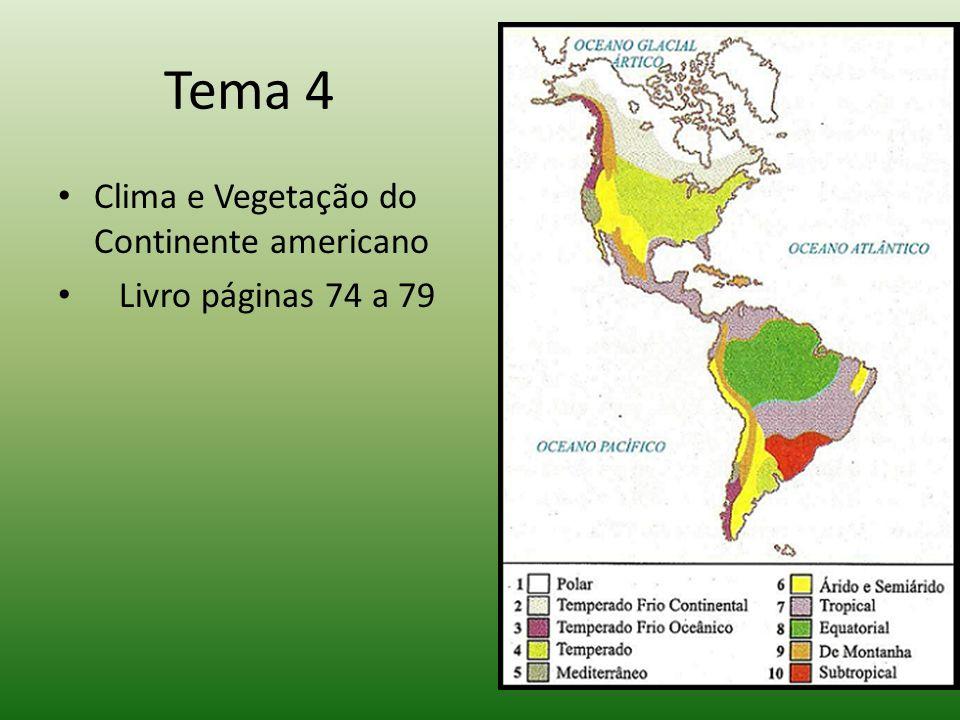 Vários fatores podem determinar o clima de uma região: 1.