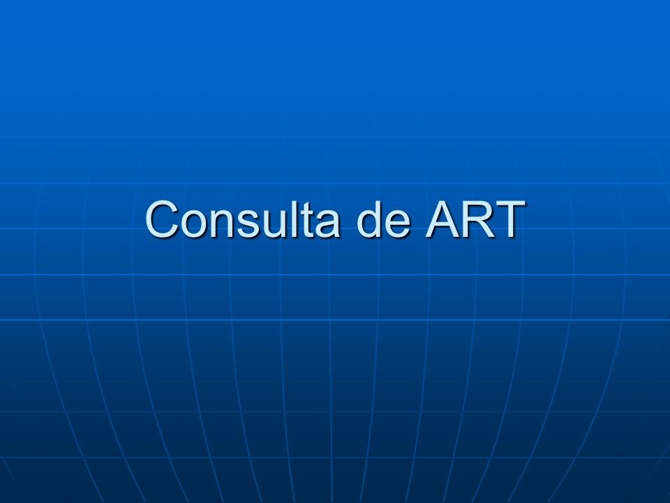 Consulta de ART