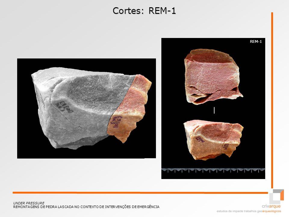 Cortes: REM-1 UNDER PRESSURE REMONTAGENS DE PEDRA LASCADA NO CONTEXTO DE INTERVENÇÕES DE EMERGÊNCIA REM-1
