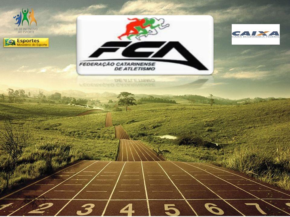 Histórico A Federação Catarinense de Atletismo (FCA) atua há 33 anos na gestão do esporte, organizando eventos e competições, especialmente no atletismo de pista e campo.