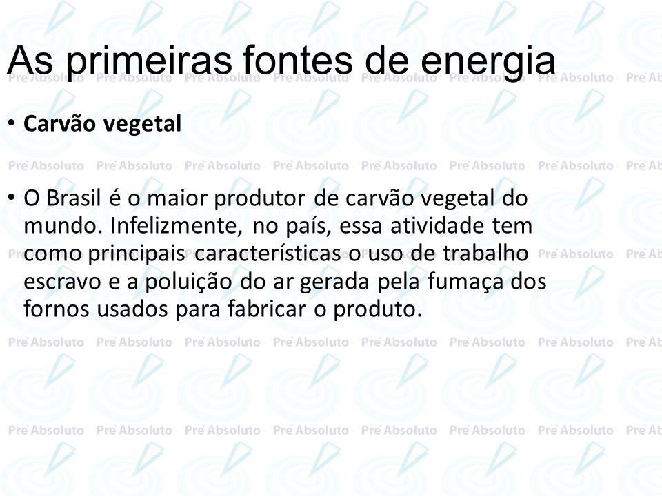 No Estado de Santa Catarina é realizada a maior produção de carvão, com destaque para o vale do rio Tubarão, nessa jazida o minério é totalmente aproveitado pelas indústrias siderúrgicas, geralmente localizadas na região Sudeste.destaque