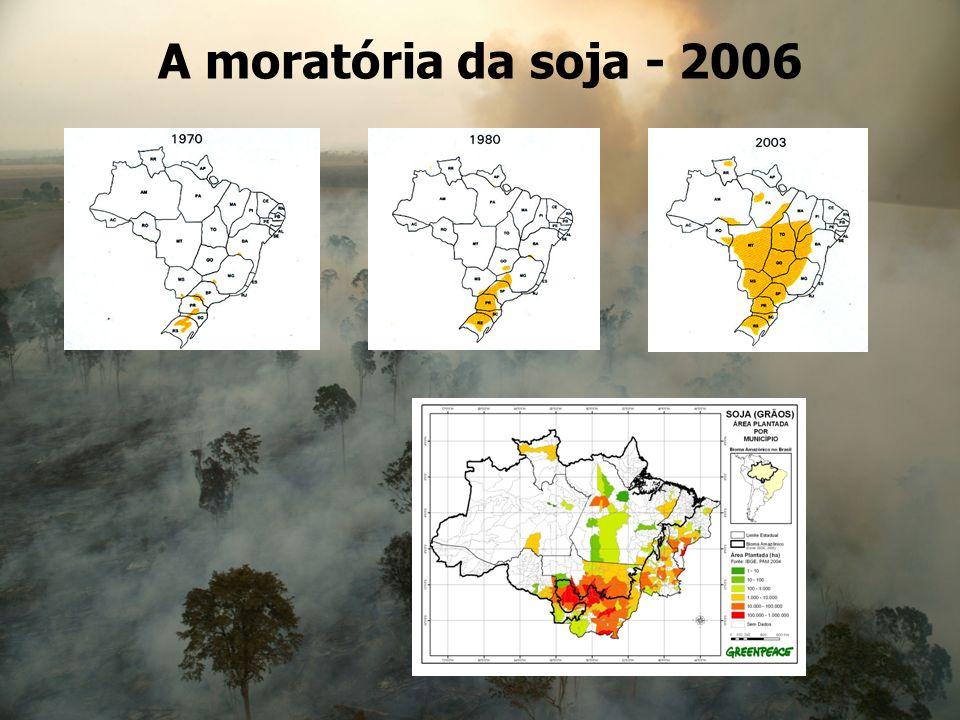 A moratória da soja - 2006