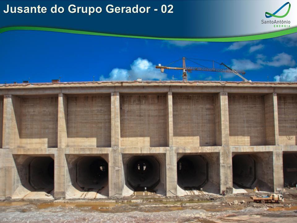 Jusante do Grupo Gerador - 02
