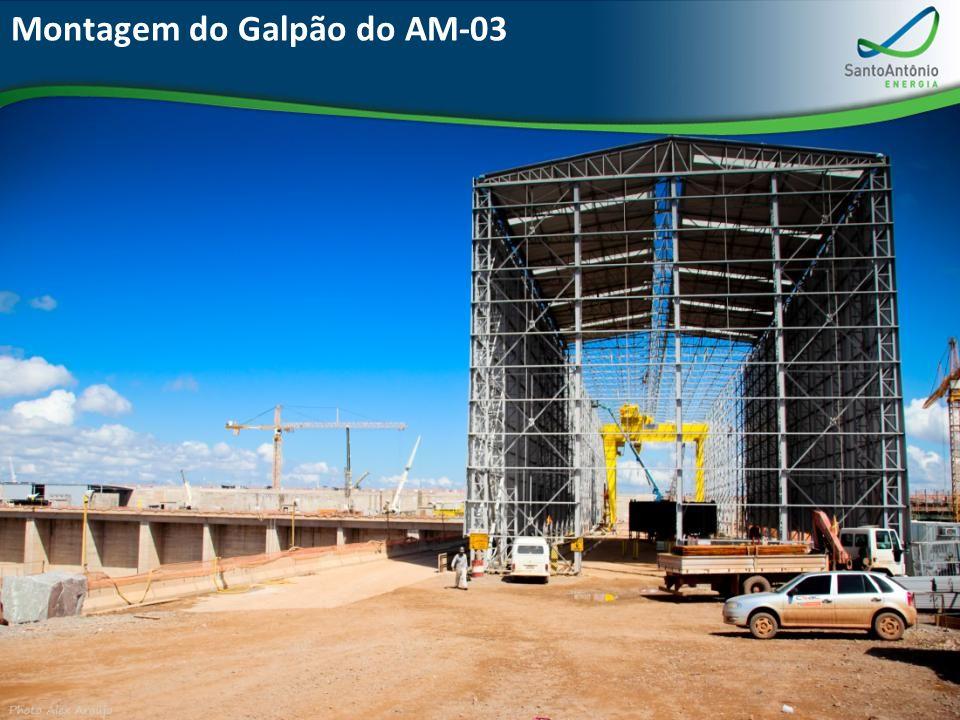 Montagem do Galpão do AM-03