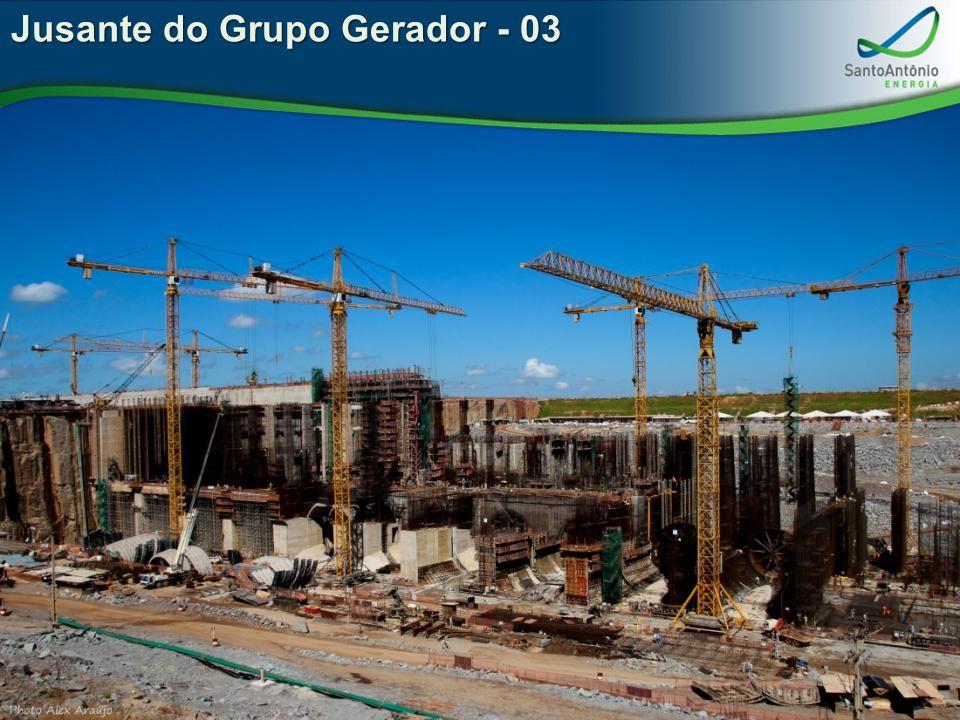 Jusante do Grupo Gerador - 03