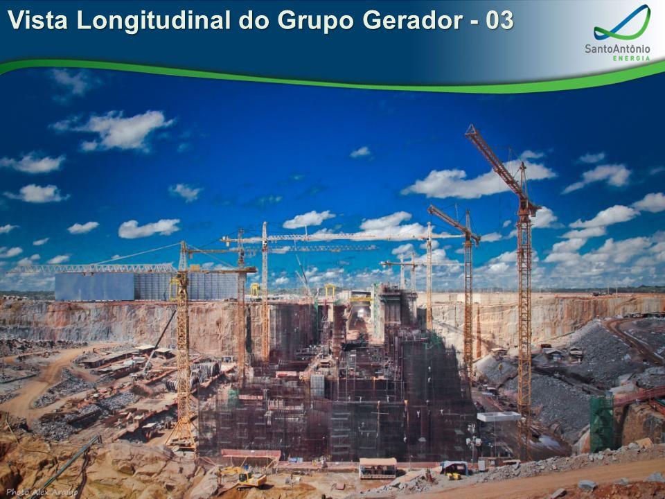 Vista Longitudinal do Grupo Gerador - 03