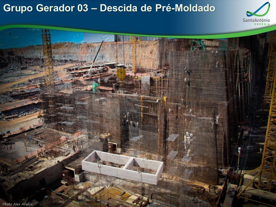 Grupo Gerador 03 – Descida de Pré-Moldado