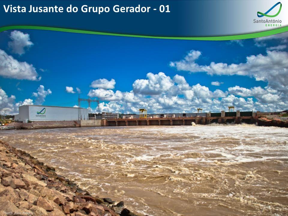Vista Jusante do Grupo Gerador - 01