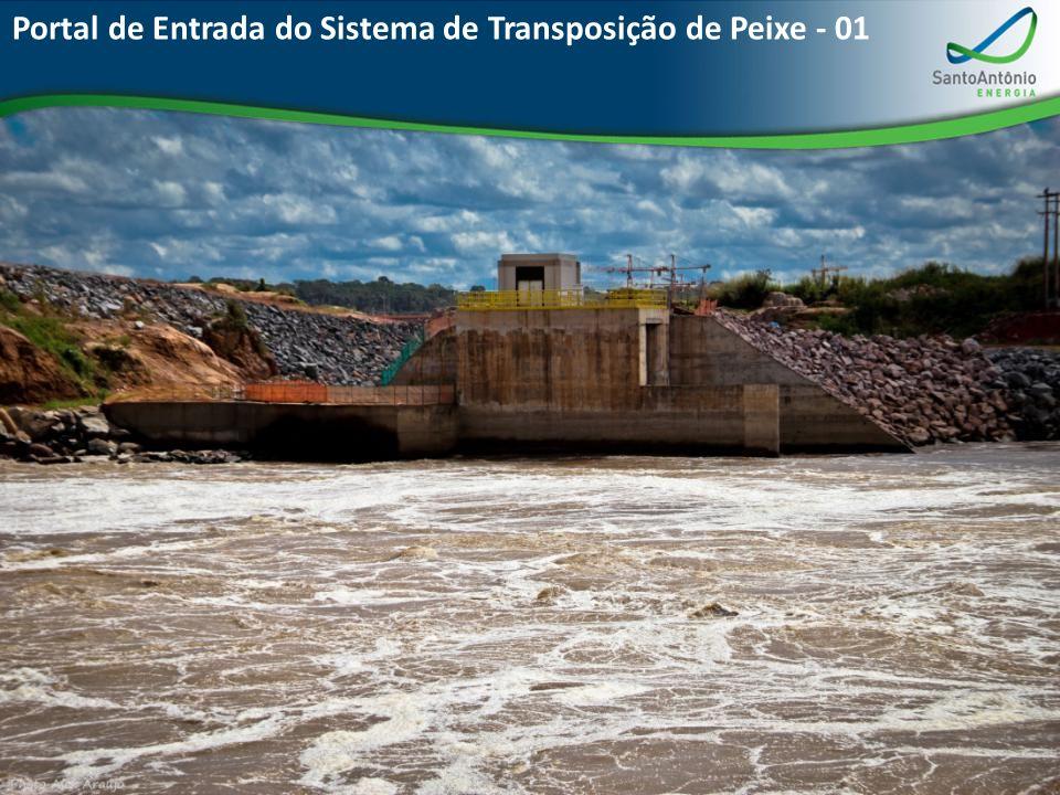 Portal de Entrada do Sistema de Transposição de Peixe - 01