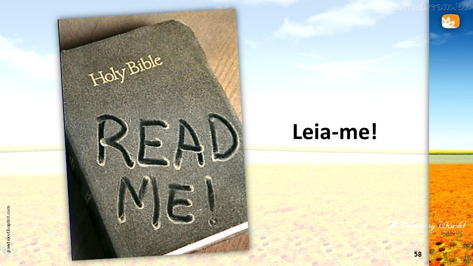 58 pawtuxetbaptist.com Leia-me!