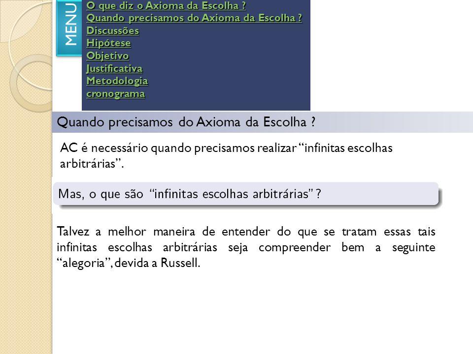 CRONOGRAMA MENU Ano de 2008 SetOutNovDezJan/ 09 Fev / 09 Levantamento bibliográfico e pesquisa na Internet.