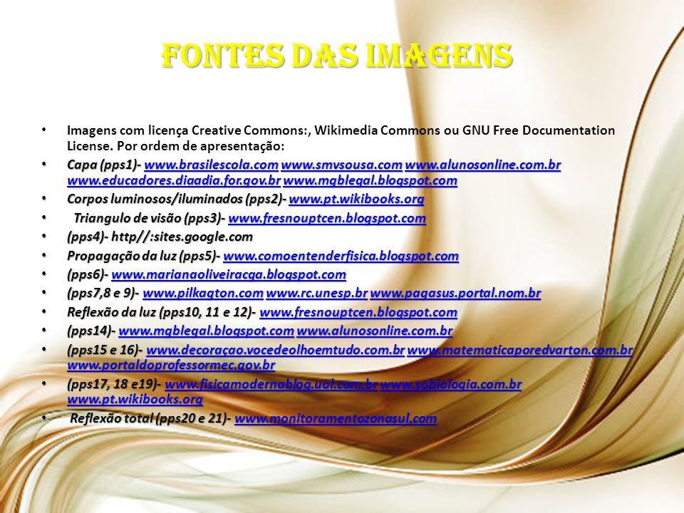 Imagens com licença Creative Commons:, Wikimedia Commons ou GNU Free Documentation License.