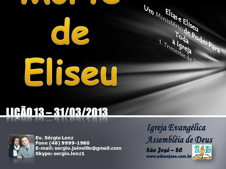 O último milagre relacionado à vida de Eliseu demonstra o poder e o exemplo de um homem que ama e teme a Deus.