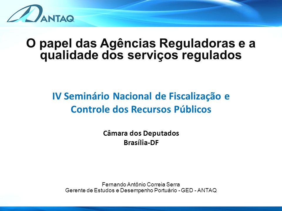 AMAZONAS PARÁ AMAPÁ RORAIMA RODÔNIA MATO GROSSO TOCANTINS GOIÁS MATO GROSSO DO SUL MARANHÃO PIAUÍ CEARÁ RIO GRANDE DO NORTE PARAÍBA PERNAMBUCO ALAGOAS BAHIA MINAS GERAIS SÃO PAULO ESPÍRITO SANTO PARANÁ SANTA CATARINA RIO GRANDE DO SUL SERGIPE RIO DE JANEIRO ACRE MANAUS SANTARÉM BELÉM VILA DO CONDE ITAQUI FORTALEZA AREIA BRANCA NATAL CABEDELO SUAPE MACEIÓ SALVADOR ARATU ILHÉUS BARRA DO RIACHO VITÓRIA RIO DE JANEIRO ITAGUAÍ (Sepetiba) SÃO SEBASTIÃO SANTOS PARANAGUÁ SÃO FRANCISCO DO SUL ITAJAÍ IMBITUBA PELOTAS RIO GRANDE MACAPÁ RECIFE NITERÓI FORNO ANTONINA ANGRA DOS REIS PORTO ALEGRE LAGUNA PORTOS PÚBLICOS MARÍTIMOS 34 Apenas portos que movimentam cargas, sem pequenos portos e portos pesqueiros RESOLUÇÃO ANTAQ Nº 2.969/13 Define a classificação dos Portos Públicos, Terminais de Uso Privado e Estações de Transbordo de Cargas em Marítimos, Fluviais e Lacustres 12