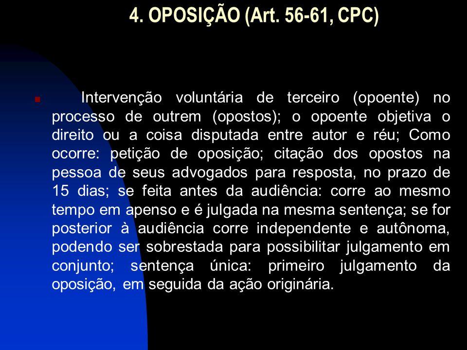 4.OPOSIÇÃO (Art.
