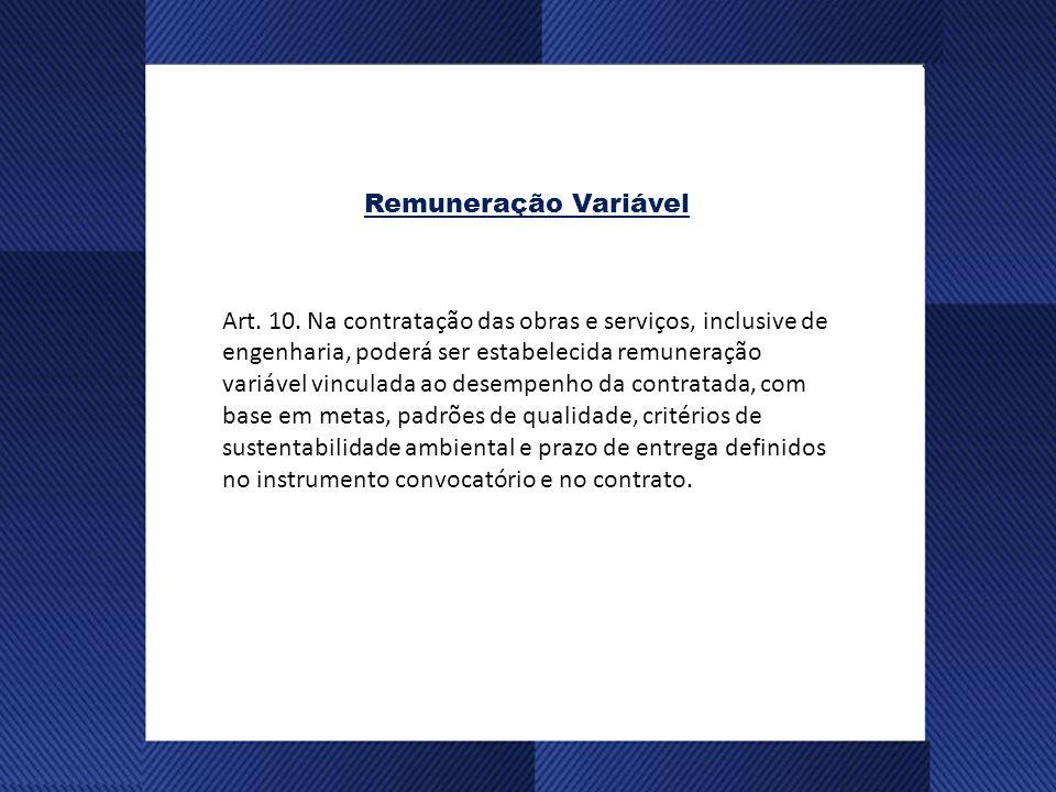 Remuneração Variável Art.10.