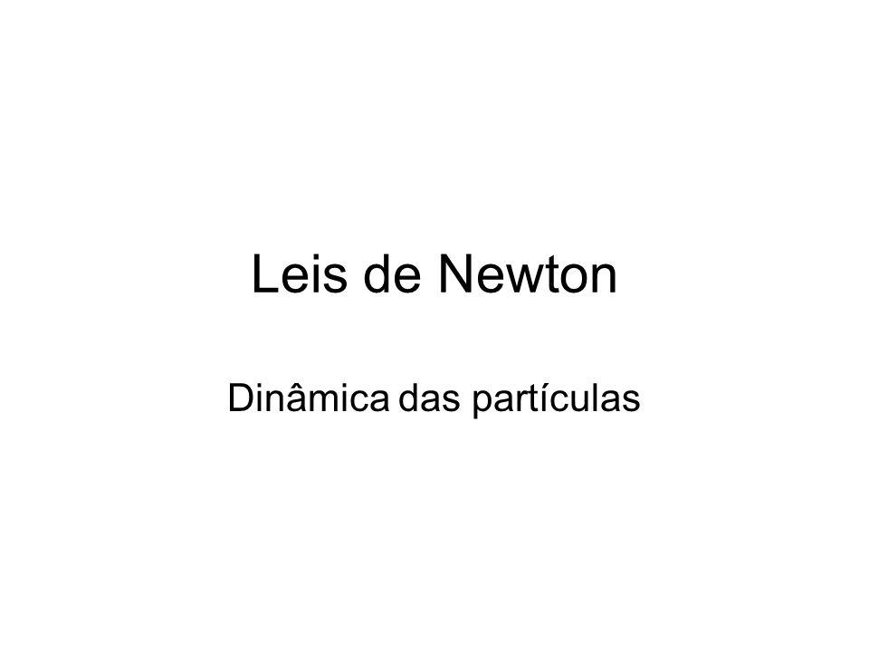 Leis de Newton Dinâmica das partículas