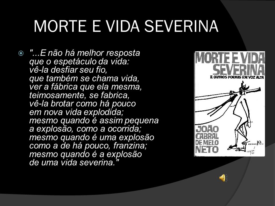 MORTE E VIDA SEVERINA
