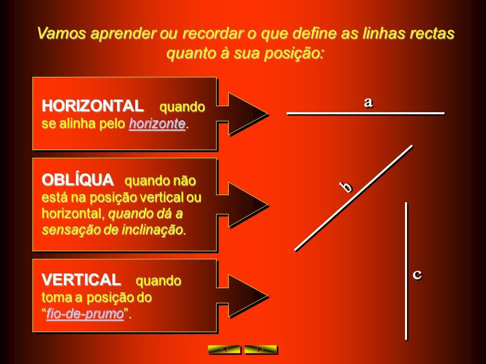 Vamos aprender ou recordar o que define uma uma: SEGMENTO DE RECTA RECTA - com princípio e fim ( pode-se medir )e identifica-se, no princípio e no fim
