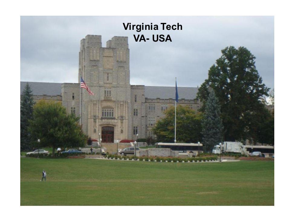 Virginia Tech VA- USA