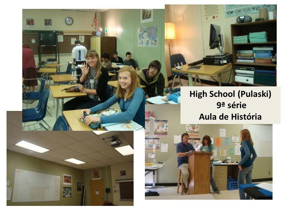 High School (Pulaski) 9ª série Aula de História