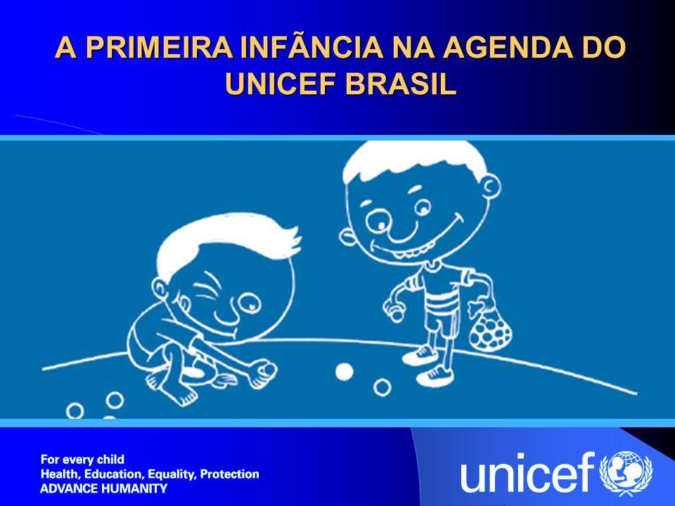 A PRIMEIRA INFÃNCIA NA AGENDA DO UNICEF BRASIL