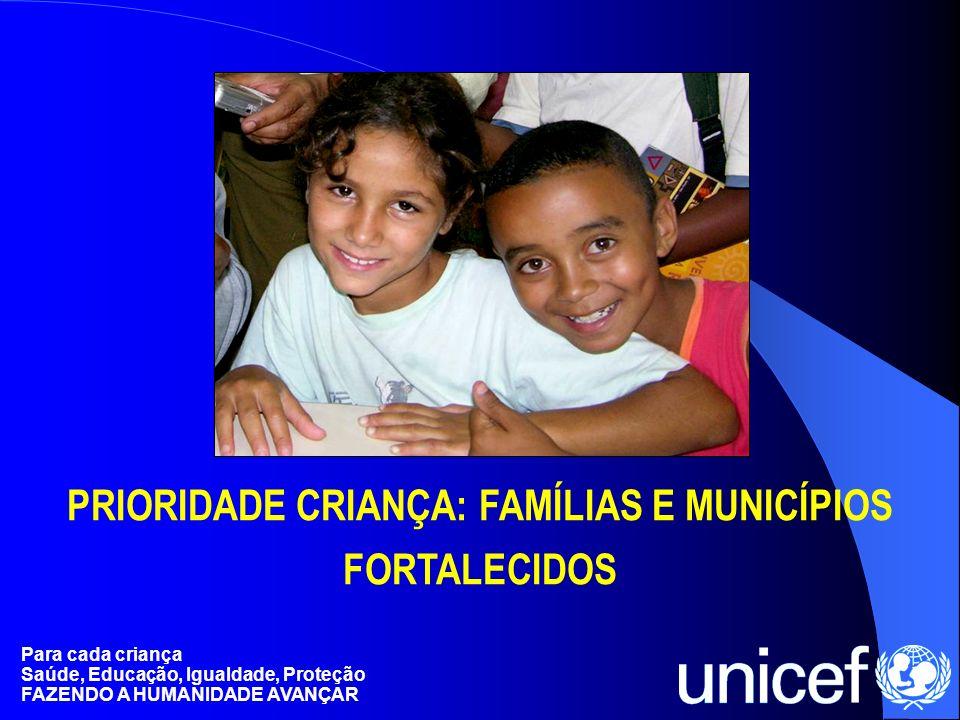 Para cada criança Saúde, Educação, Igualdade, Proteção FAZENDO A HUMANIDADE AVANÇAR PREFEITO PROFISSIONAL DE ASSISTÊNCIA SOCIAL AGENTE DE SEGURANÇA PÚBLICA COMUNIDADES ORGANIZADAS CONSELHEIRO EMPRESÁRIO / COMERCIANTE FAMÍLIA JORNALISTA JUIZ, PROMOTOR, DEFENSOR PÚBLICO PREFEITO PROFISSIONAL DE ASSISTÊNCIA SOCIAL AGENTE DE SEGURANÇA PÚBLICA COMUNIDADES ORGANIZADAS CONSELHEIRO EMPRESÁRIO / COMERCIANTE FAMÍLIA JORNALISTA JUIZ, PROMOTOR, DEFENSOR PÚBLICO ATORES SOCIAIS E O QUE DEVEM FAZER