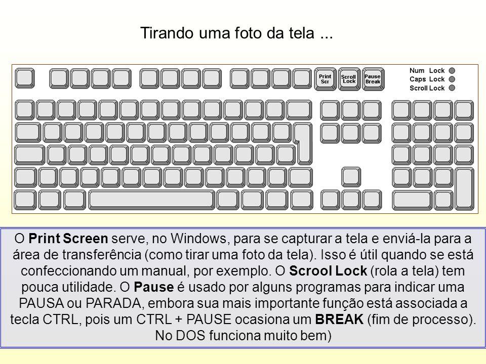 Tecla do Windows...Você pode usar a tecla com o símbolo do Windows para abrir o menu INICIAR.