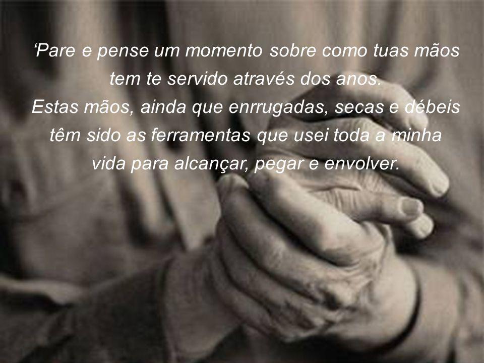 A vida acontece no presente, sempre.Há somente o hoje, o agora, e este é o seu momento com Deus.