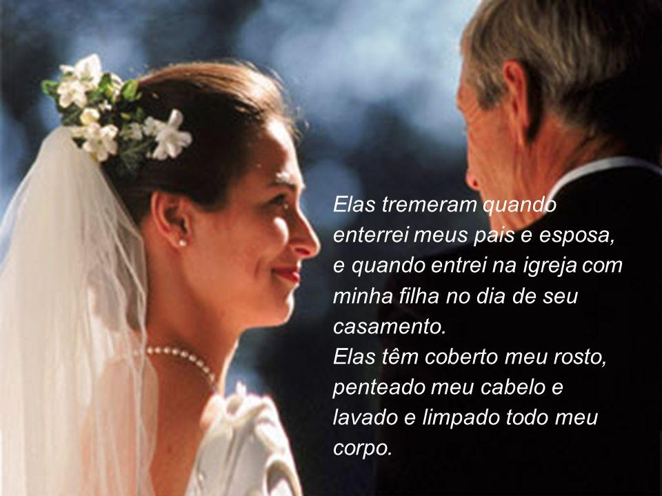 Foram decoradas com uma aliança e mostraram ao mundo que estava casado e que amava alguém muito especial...
