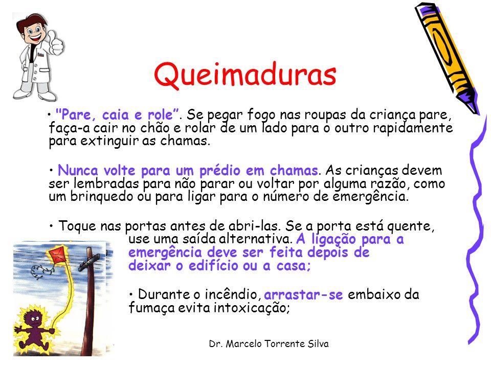 Dr. Marcelo Torrente Silva Queimaduras