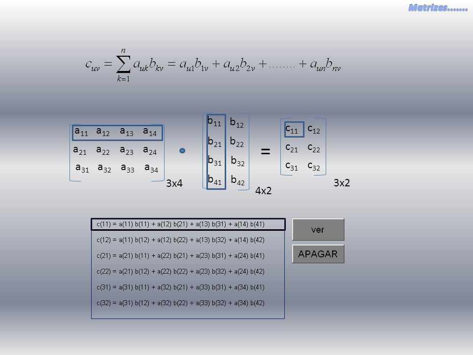 = b 22 b 21 b 12 b 11 b 32 b 41 b 42 b 31 4x2 3x2 c 21 c 22 c 11 c 12 c 31 c 32 a 22 a 21 a 23 a 24 a 12 a 11 a 13 a 14 a 32 a 33 a 34 a 31 3x4